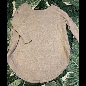 Circle Hem Sweater